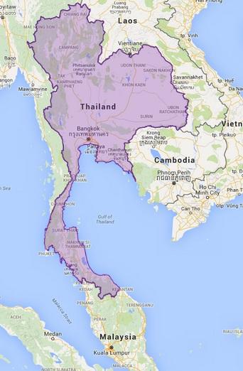 Virtual map of