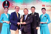 Thailand Lauded by TTG Travel Awards